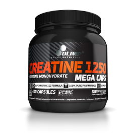 Creatine Mega Caps (1250mg)